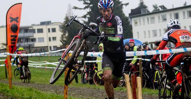 Francis Mourey bei seinem Solo © S.Müssiggang /www.radsportphoto.net