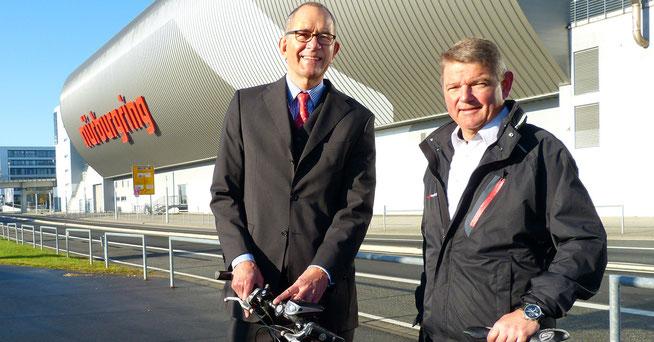 """Hanns-Martin Fraas und Carsten Schumacher © """"Rad am Ring"""""""