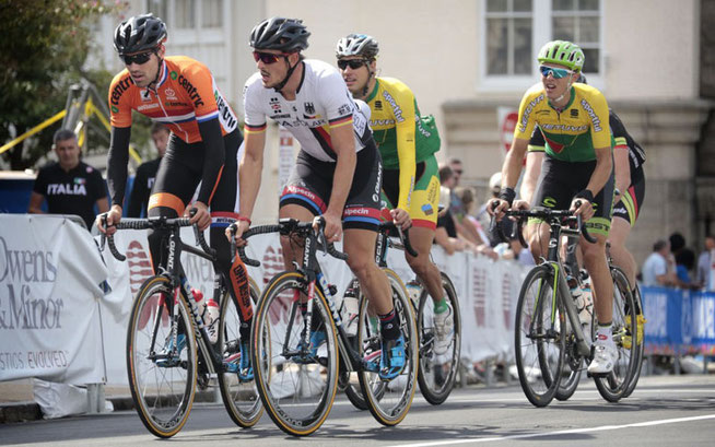 John Degenkolb hat tapfer gekämpft, belegte aber nur Platz 29 im Straßenrennen der Profis ©BDR-Medienservice