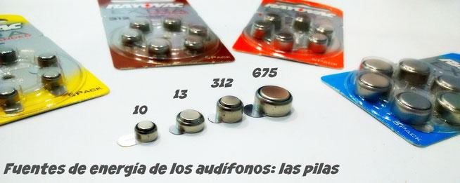 Las pilas son el corazón del audífono, su fuente de energía.