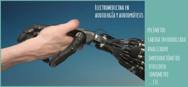 Tecnología al servicio de la salud auditiva. Dando la mano a la tecnología.