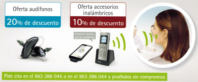 Descuento en tus audífonos Phonak, en el Centro Auditivo Cuenca, Valencia