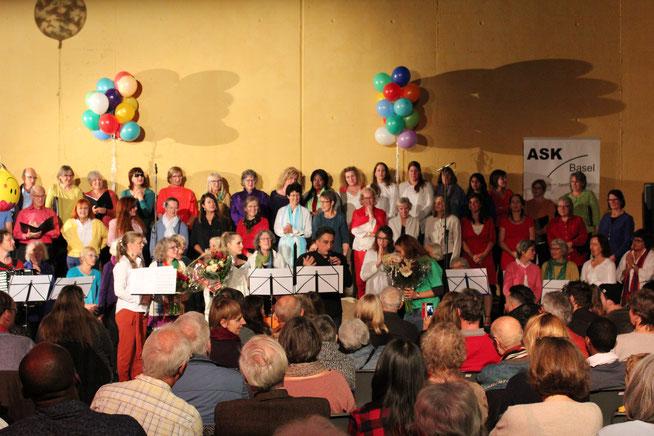 """Letztjähriges Konzert mit den ASK-Chören """"Singen ohne Grenzen"""""""