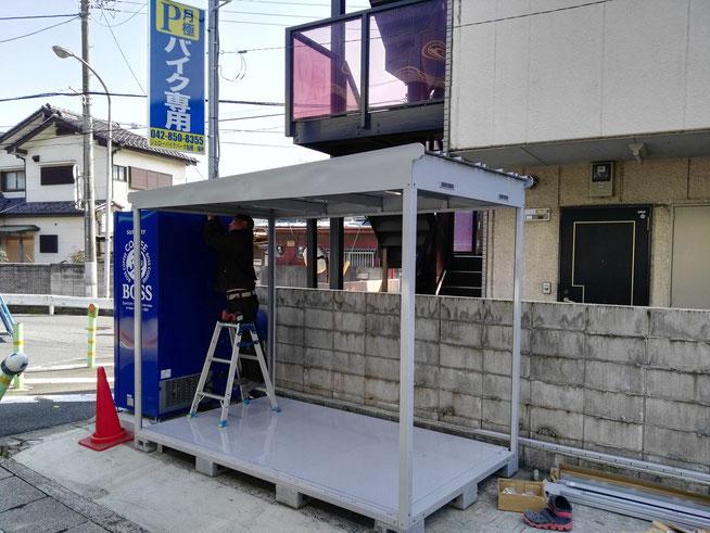 船橋・海神 バイクガレージ ワイドタイプ