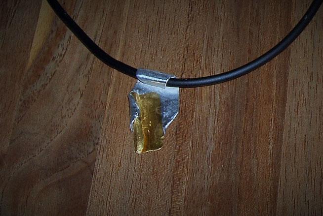 Anhänger in Gold und Silber, Unikat
