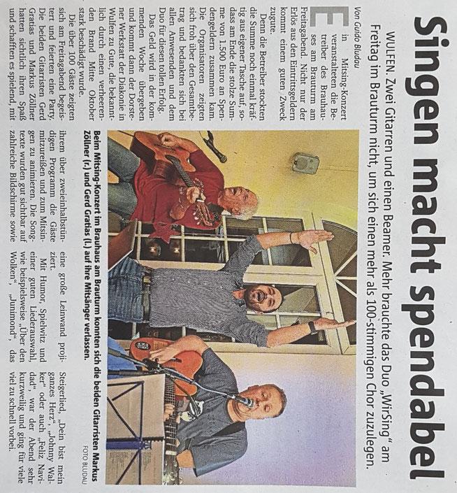 Borkener Zeitung 22.01.2018