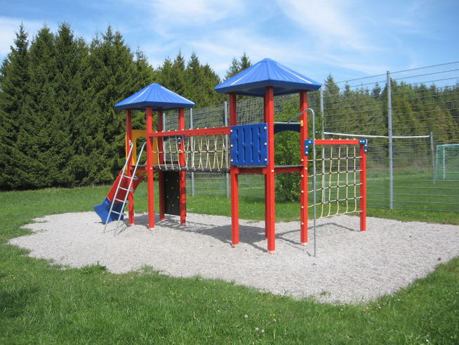 Kinderspielplatz Feriendorf Lechbruck am See