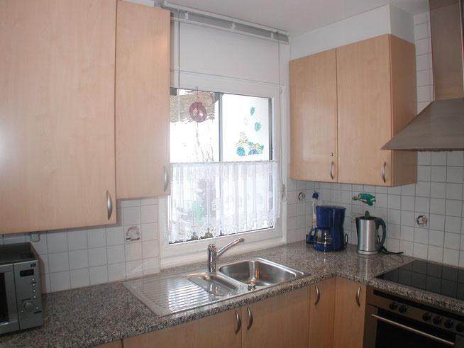 Gut ausgestattete Küche vom Ferienhaus Knöpfle Haus 118