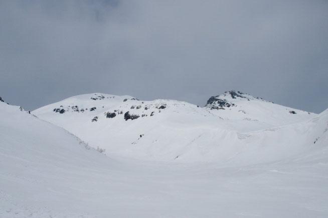 白山と転法輪谷