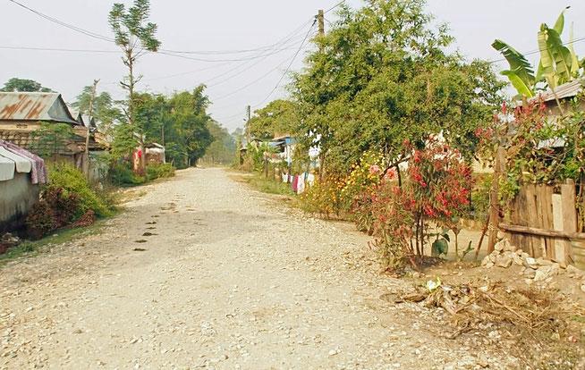 Landstraße Nepal