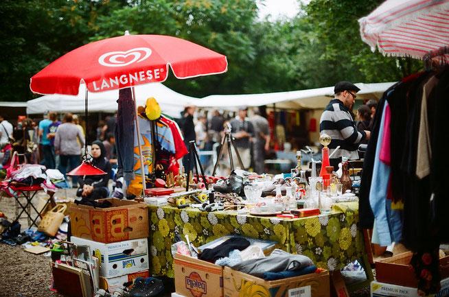 © Berlin :: Flohmarkt im Mauerpark (Tomislav Medak/Flickr, CC BY 2.0)