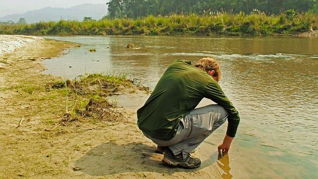 Chitwan Rapti River Dschungel Nepal