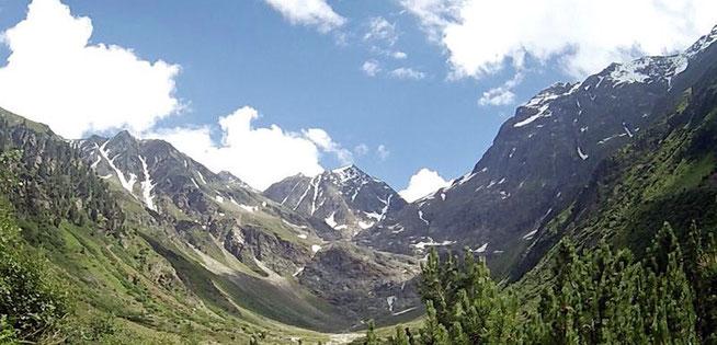 Berge Zams Wenns Alpen Österreich E5