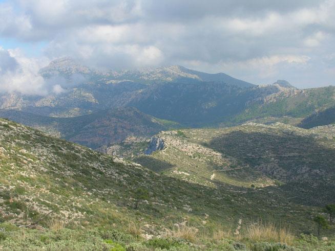 Serra de Tramuntana Mallorca Berge Gebirge Wandern