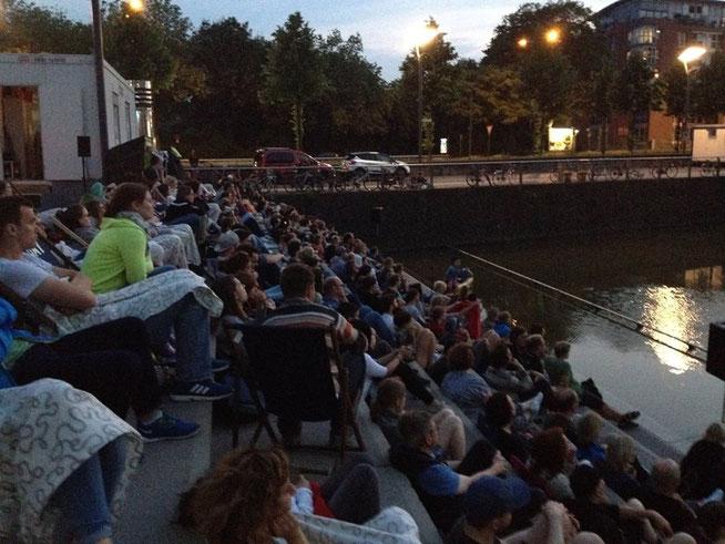 Hyperborea Tourfinale in Köln - Tolle Stimmung bei Sonnenuntergang