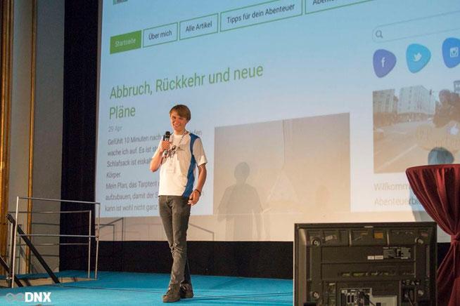 Jannis Riebschläger Vortrag DNX