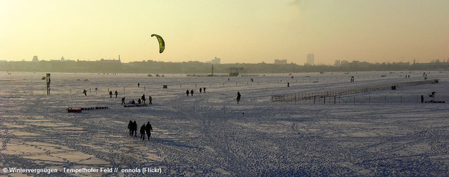 © Wintervergnügen - Tempelhofer Feld (onnola/Flickr, CC BY 2.0)