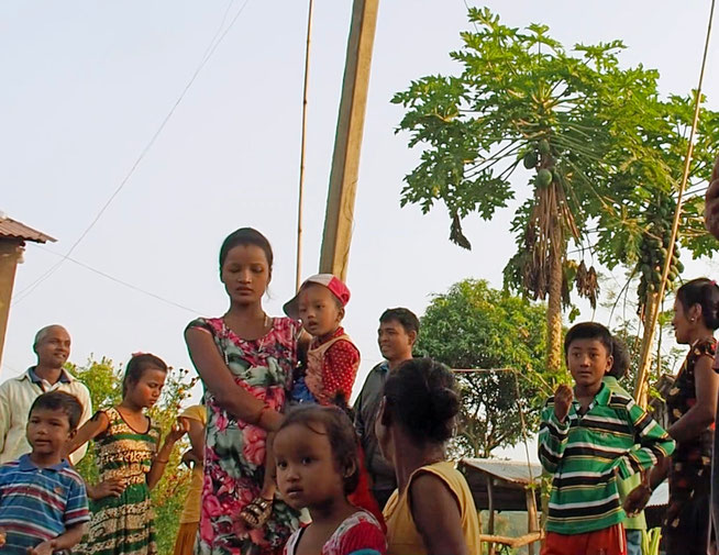 Tharu Dorf Chitwan Nepal