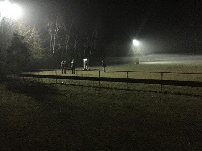 Trainingsavond in Nordhorn