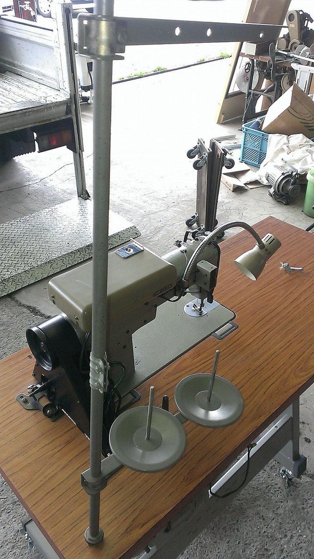 JUKI DDL-505 中古 本縫い自動糸切り工業用ミシン 糸立て拡大