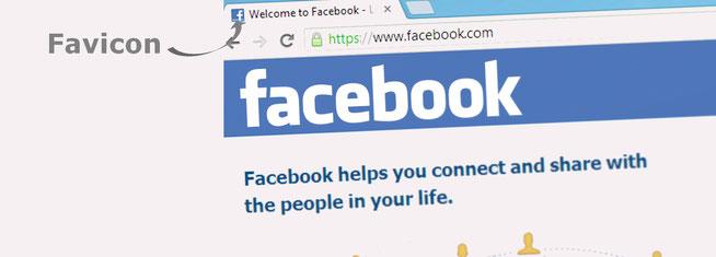 mettre un favicon sur son site avec la page facebook en exemple