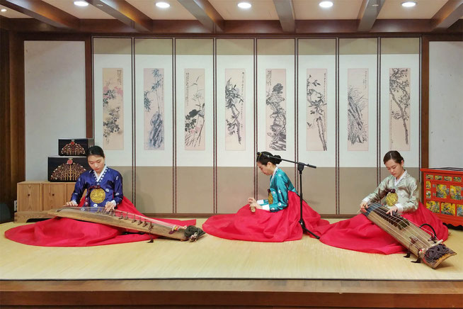 Korean traditional musicians