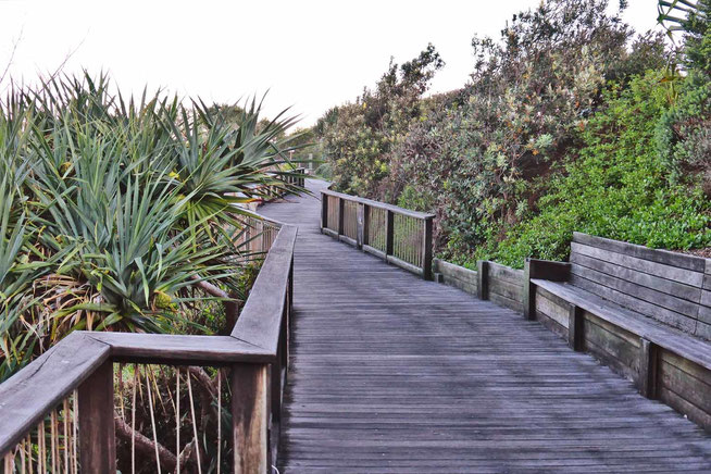 The Coolum boardwalk