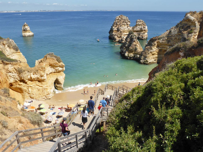 You could be missing out on Praia do Camilo, in Lagos, Portugal