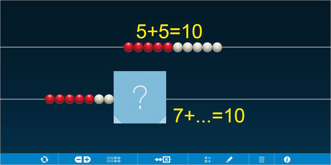 https://www.mathlearningcenter.org/web-apps/number-rack/ - klik