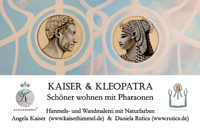 Kaiser und Kleopatra - Ein Malprojekt von Angela Kaiser und Daniela Rutica