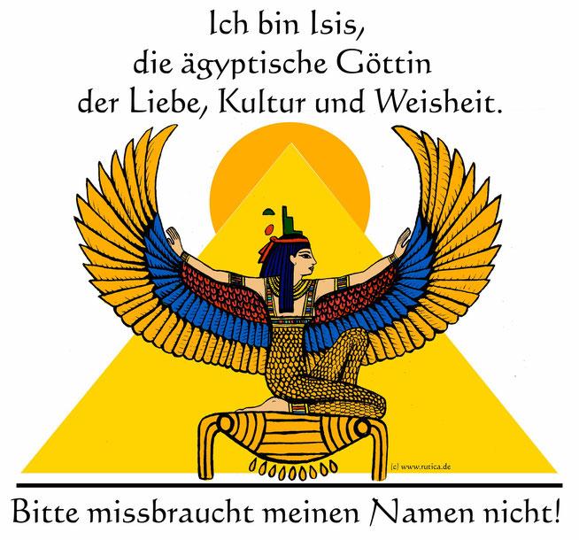 Die Göttin Isis