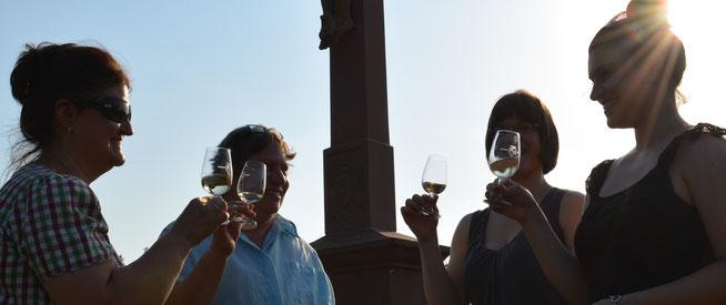 Sonne im Glas: Weinprobe auf dem Heuberg