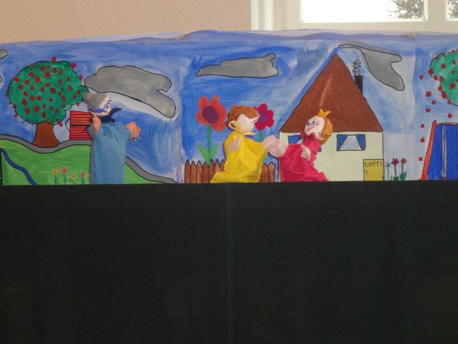 Kasperlitheater Schulklasse selber vorpsielen