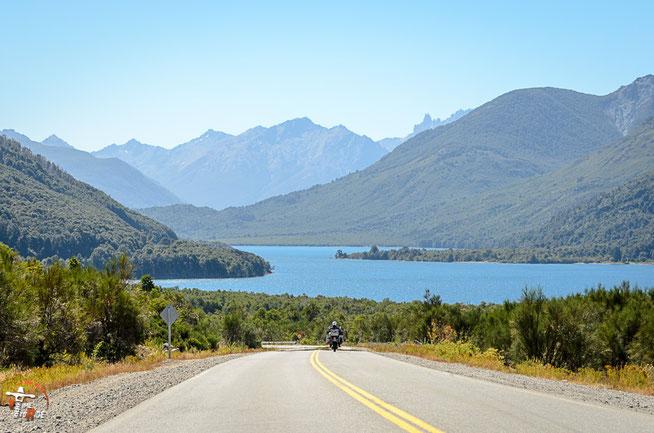 Argentinien - Südamerika - Reise - Motorrad - Honda Transalp - Ruta 40 nach San Carlos de Bariloche
