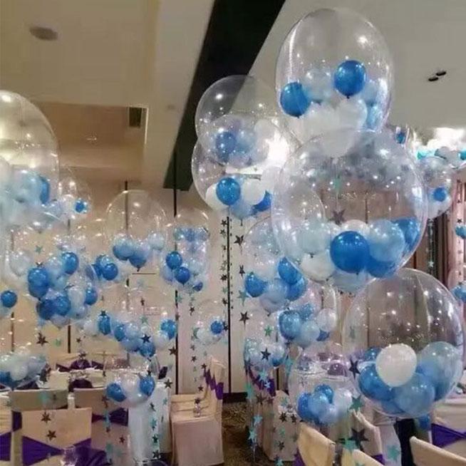 meter globos dentro de otro globo