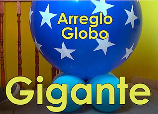 globo gigante para fiesta