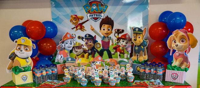 globos para fiesta de patrulla canina
