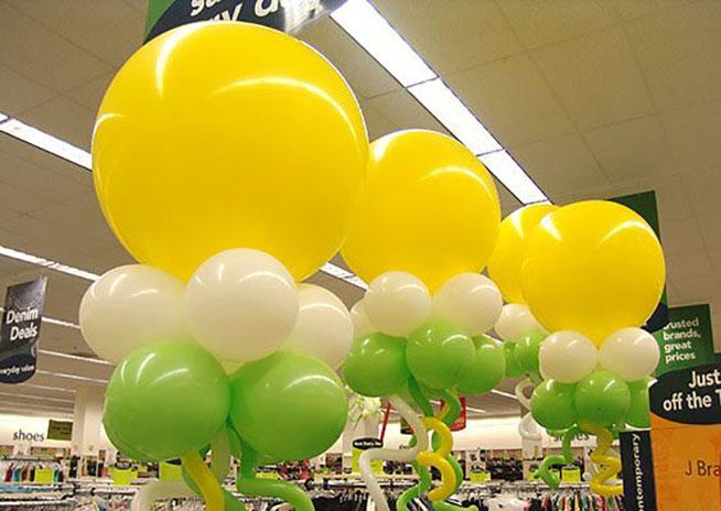 arreglos con globos gigantes