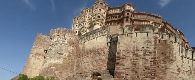 Bild: Fort von Jodhpur in Rajasthan, Indien