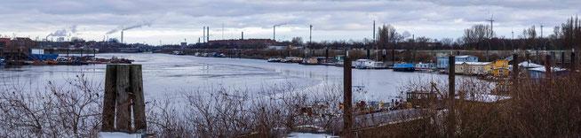Bild: Blick auf den Spreehafen