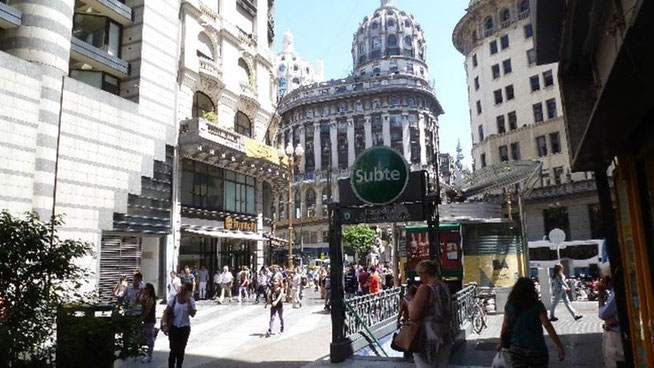 Bild: Subte in Buenos Aires