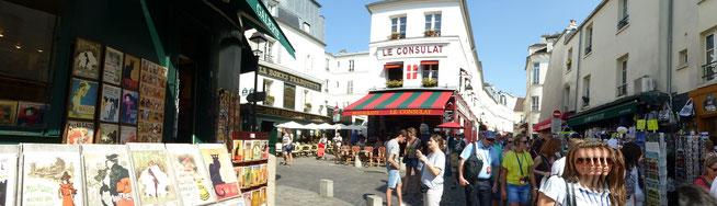 Bild: Montmartre das Künstlerviertel