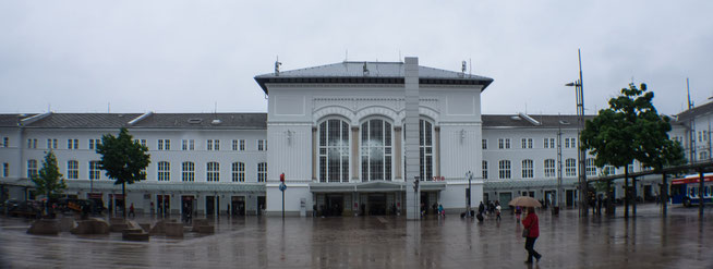 Bild: Hauptbahnhof von Salzburg