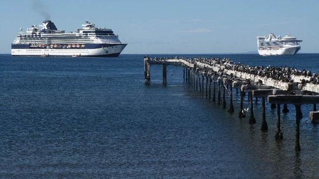 Bild: Hafen von Punta Arena