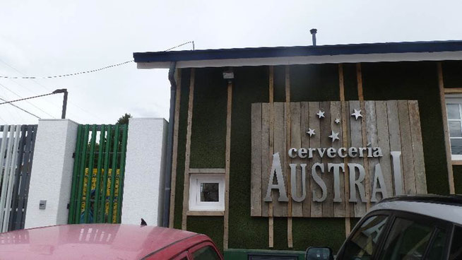 Bild: Südlichste Brauerei der Welt