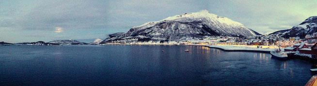 Bild: Panoramabild Hurtigruten