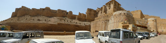 Bild: Fort of Jaisalmer in Rajasthan