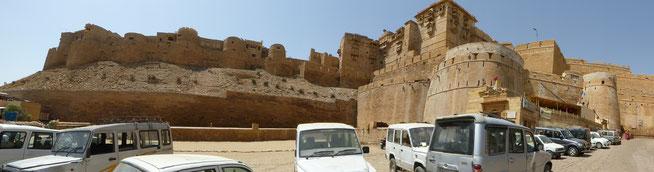 Bild: Fort von Jaisalmer in Rajasthan