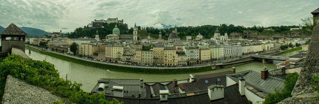 Bild: Panorama Kloster in Salzburg - Tag  3