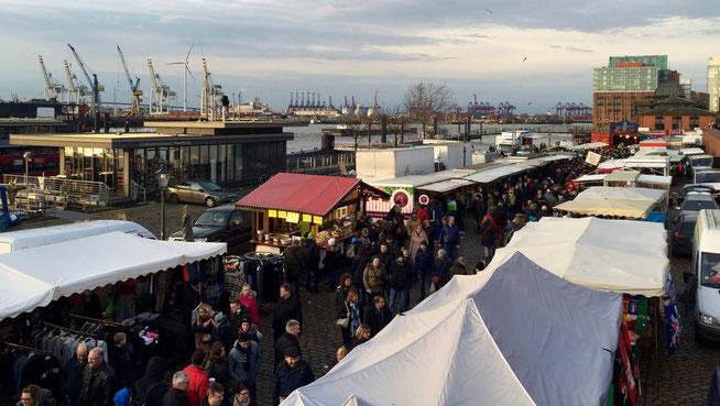 Bild: Der Hamburger Fischmarkt